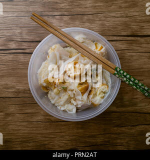 Food Steamed Vermicelli Roll - Stock Image