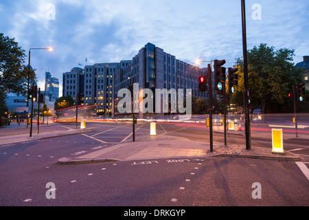 Buildings Shadwell, London - Stock Image