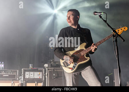 London, UK, 14th Jan 2016. Slaves Live Performance at o2 Kentish Town Forum. © Robert Stainforth/Alamy - Stock Image