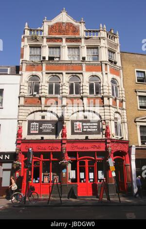 Old Red Lion Theatre Pub Islington London - Stock Image