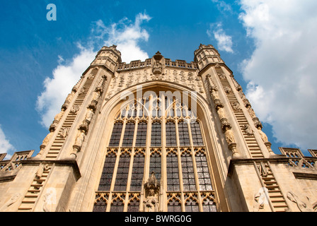 Bath Abbey in Somerset England UK - Stock Image