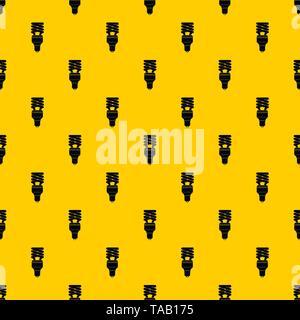 Energy saving bulb pattern vector - Stock Image