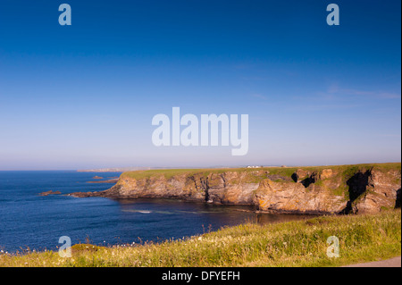 cliffs at sea front - Stock Image