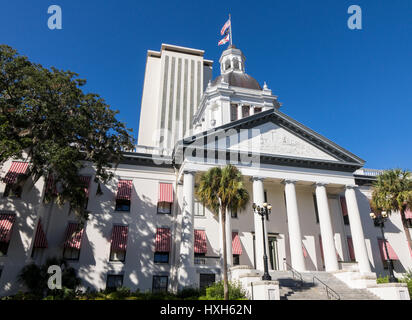 New Florida State Capitol building, Tallahassee and Historic Capitol Museum, USA - Stock Image