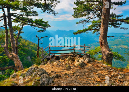 Banjska Stena, Tara National Park, Serbia - Stock Image