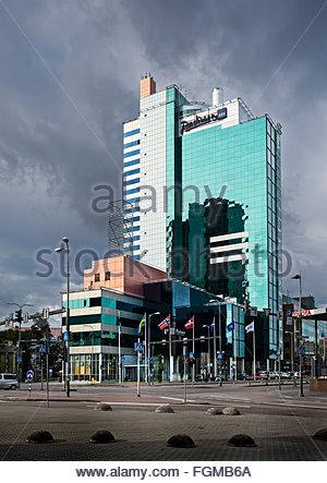 hotel Radisson Blu in Tallinn, Estonia - Stock Image