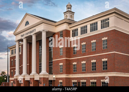 Troy University on the Chattahoochee River in Phenix City, Alabama. (USA) - Stock Image