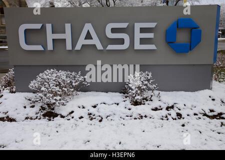 Chase Bank in Stamford, Stamford, USA  New York - March 21: Chase Bank branch in Stamford, United States America. - Stock Image