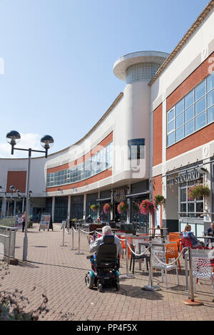 The Plaza Town Square, Stevenage, Hertforshire - Stock Image