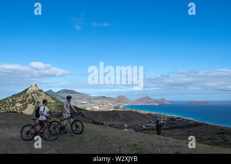 Portugal, Madeira, Porto Santo Island, Pico Ana Ferreira - Stock Image
