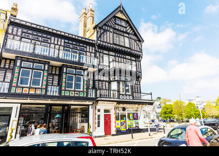 The Angel Hotel Dartmouth, Devon, UK, England, The Angel Hotel, Dartmouth, Devon hotels, hotel, hotels, Dartmouth Town, Angel hotel Dartmouth, UK - Stock Image