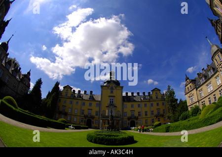 schloss buckeburg castle weserbergland - Stock Image