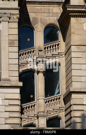 Building detail in Liverpool City Centre - Stock Image