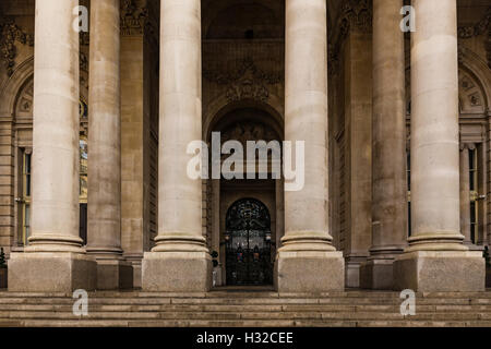 The Royal Exchange, London, England, United Kingdom - Stock Image