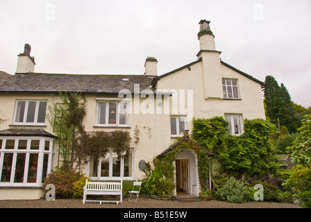 William Wordsworth  family home Rydal Mount and Gardens historic house Lake District National Park UK United Kingdom - Stock Image