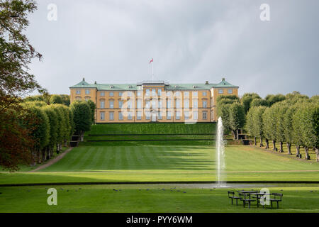 Frederiksberg Palace was constructed and extended from 1699 to 1735. The palace served as the royal family's summer residence until the mid-19th centu - Stock Image