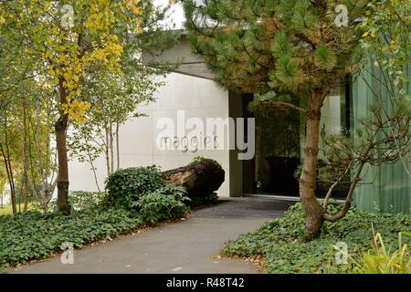 The Maggie's cancer support centre at Gartnavel General Hospital, Glasgow, Scotland, UK - Stock Image