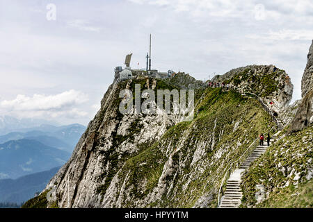 Mount Pilatus Aplnach Switzerland - Stock Image