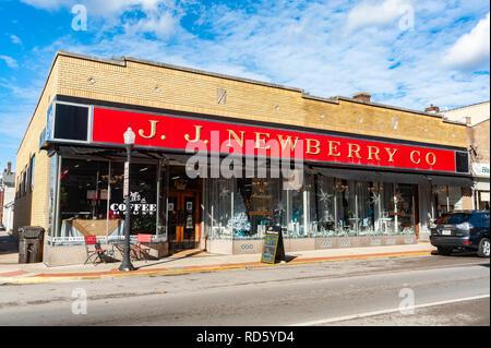 J.J. Newberry Co. in Paris, Kentucky - Stock Image