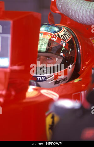 1999 Michael Schumacher German Ferrari F399 Cockpit. - Stock Image