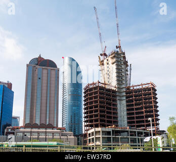 Construction in Istanbul - Stock Image