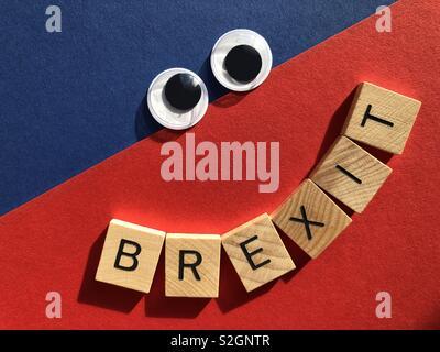 I British Politics. Brexit - Stock Image