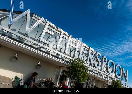 Wetherspoon,Royal Pavilion,Seafront,Ramsgate,Thanet,Kent - Stock Image