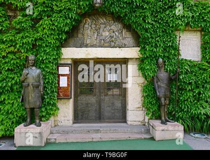 Ruzica Church, Belgrade Fortress, Belgrade, Serbia - Stock Image
