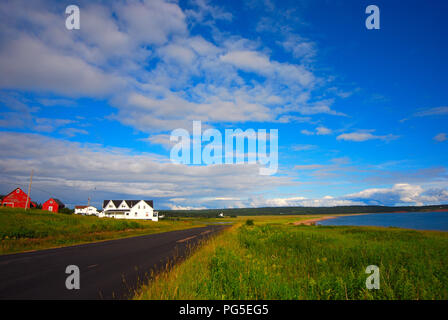 Landscape traveling in Canada - Stock Image