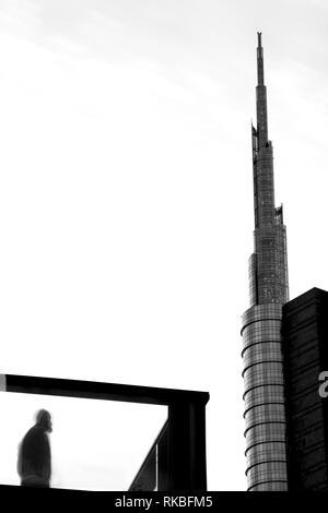 Milan new skyscraper - Stock Image