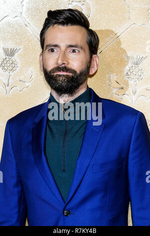 London, UK. 10th Dec 2018. David Tennant at Mary Queen Of Scots European Premiere on Monday 10 December 2018 held at Cineworld Leicester Square, London. Pictured: David Tennant. Credit: Julie Edwards/Alamy Live News - Stock Image