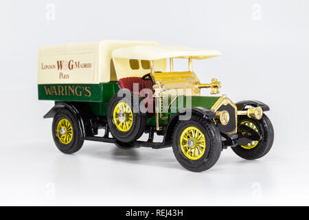 Matchbox Models of Yesteryear Y-13 Crossley Lorry 1918 - Waring's - Stock Image