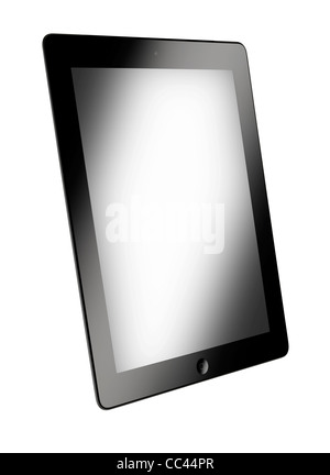 A cut out of an iPad2 - Stock Image