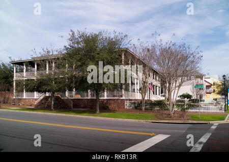 Lee House; a boutique hotel in old-town Pensacola, Florida, USA. - Stock Image