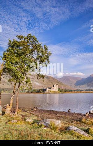 Kilchurn Castle, Loch Awe, Argyll and Bute, Scotland, UK. - Stock Image