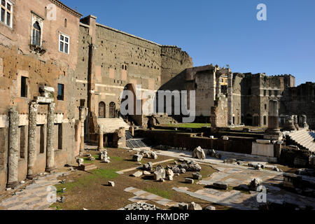 italy, rome, forum of augustus - Stock Image