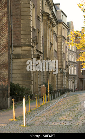 Old Buildings in Dusseldorf City Centre Germany - Stock Image