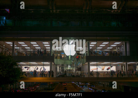 Apple Store in Central, Hong Kong - Stock Image
