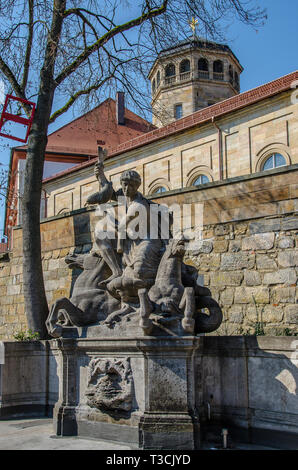 "Bayreuth – A ""Must"" for Art and Culture friends. It has a rich cultural and historical heritage to preserve. - Stock Image"
