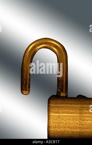 padlock - Stock Image