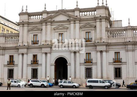 La Moneda Palace, Santiago, Chile - Stock Image