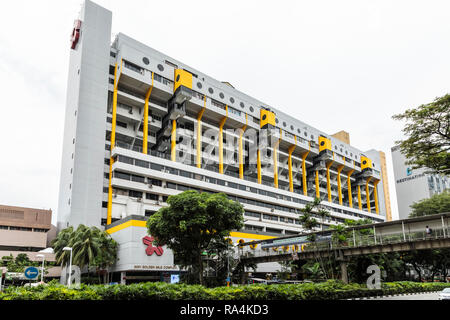 Golden Mile Complex, 5001 Beach Rd, Singapore - Stock Image