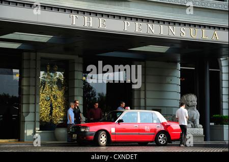 The Peninsula Hotel, Hong Kong CN - Stock Image