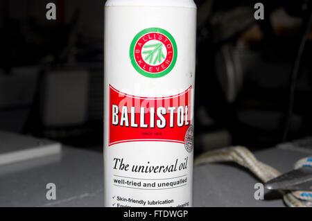 ballstol oil, cleaner, natural, gun, oil - Stock Image