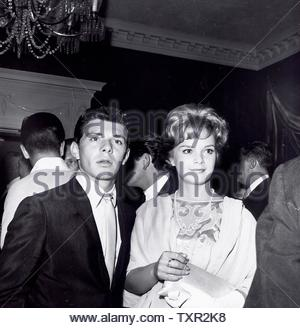 Frankie Avalon with Leticia Roman. Credit: 4345321Globe Photos/MediaPunch - Stock Image