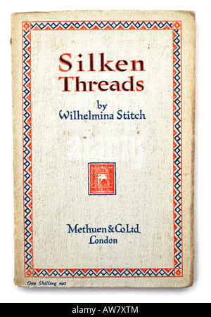 Old Paperback Book Silken Threads by Wilhelmina Stitch EDITORIAL USE ONLY - Stock Image