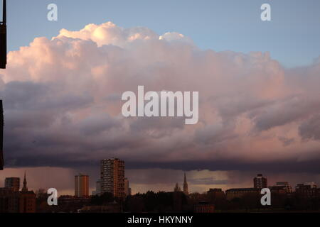 Clouds, London, UK - Stock Image