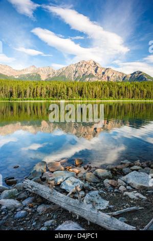 Patricia Lake, Jasper national park, Canada - Stock Image