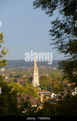 View from Horniman Gardens, London, England, Great Britain - Stock Image