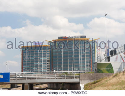 Schiedam The Netherlands SBM Offshore buildings. - Stock Image